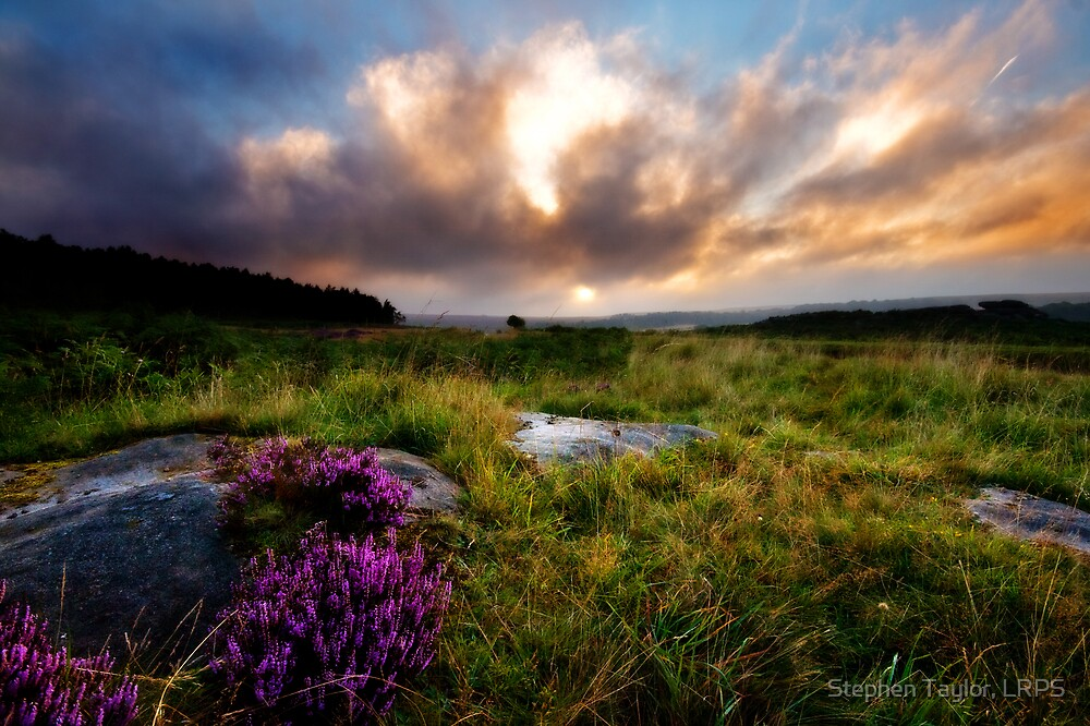 Hathersage Moor by Stephen Taylor, LRPS