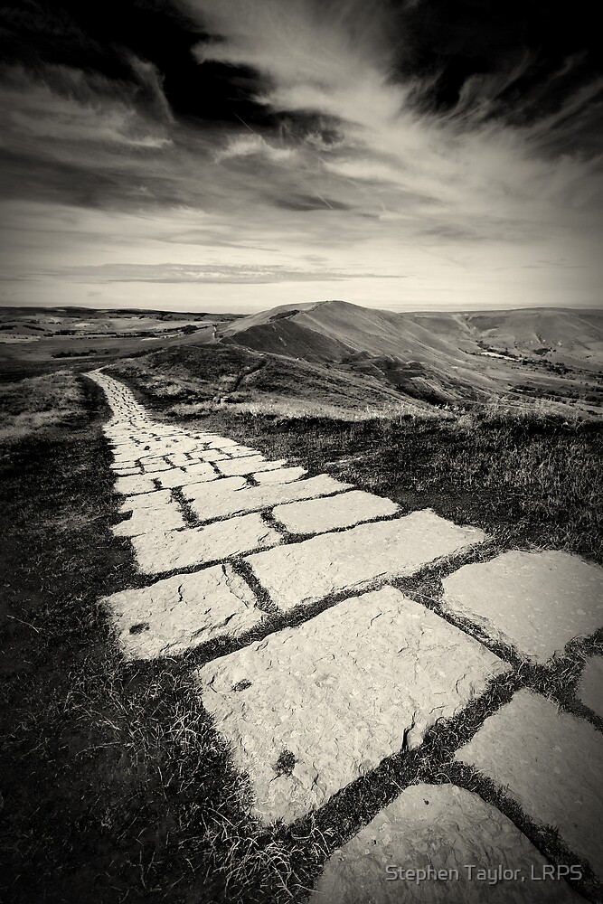 Mam Tor by Stephen Taylor, LRPS