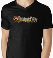 Thundercats logo Men's V-Neck T-Shirt