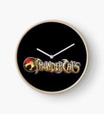Thundercats logo Clock