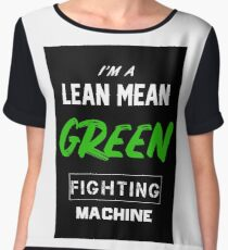 Lean and mean Chiffon Top