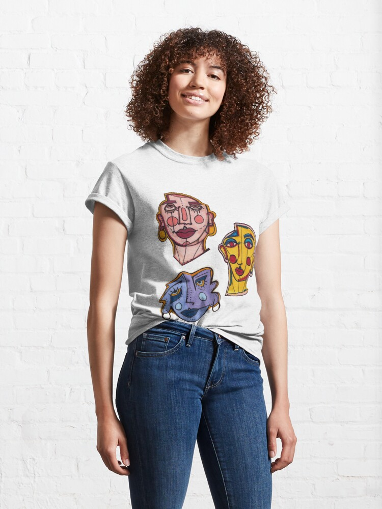 Alternate view of FACES Classic T-Shirt