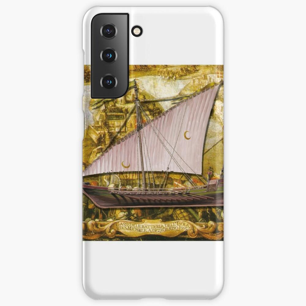 Postcard - Ottoman Galiote Case & Skin for Samsung Galaxy