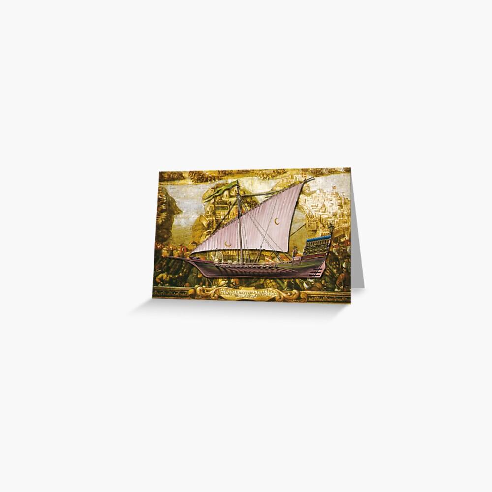 Postcard - Ottoman Galiote Greeting Card