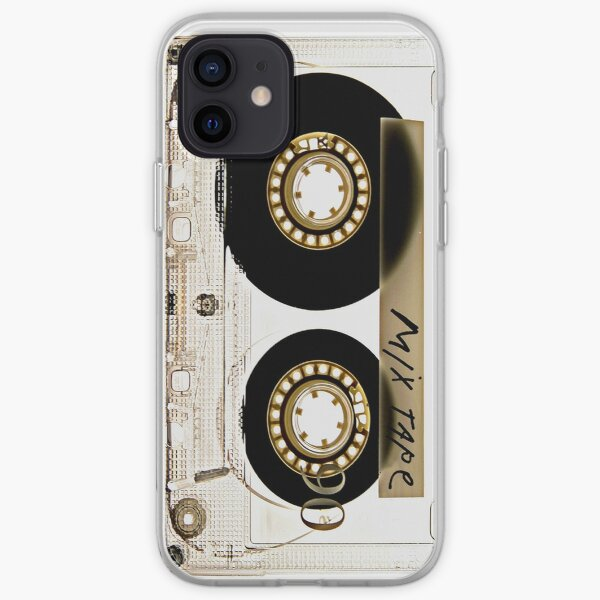 Transparent clear cassette tape iPhone Soft Case