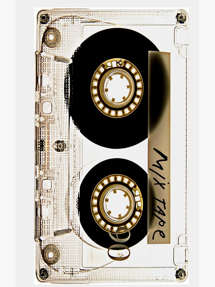 Transparent clear cassette tape by GalihArt