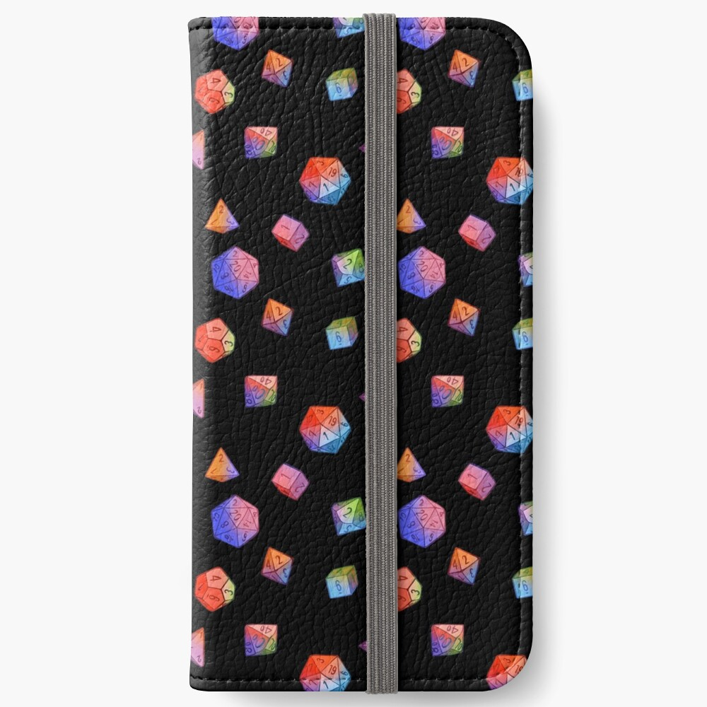 Rainbow Dice iPhone Wallet