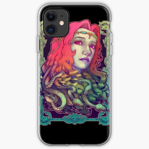 Medusa Teufel iPhone Flexible Hülle