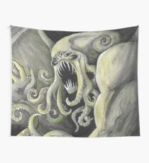 Cthulhu Sea Monster Wall Tapestry