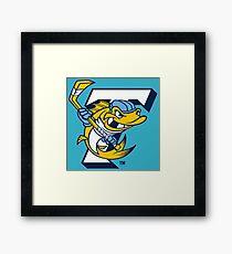 toledo walleye Framed Print