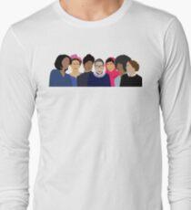 Feminist Girl Gang- Squad Goals Long Sleeve T-Shirt