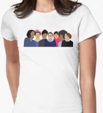 Feminist Girl Gang- Squad Goals Women's Fitted T-Shirt