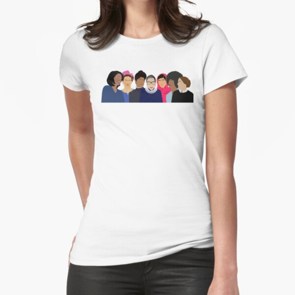 Feminist Girl Gang- Squad Goals Fitted T-Shirt