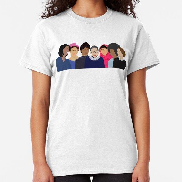 Feminist Girl Gang- Objetivos del escuadrón Camiseta clásica