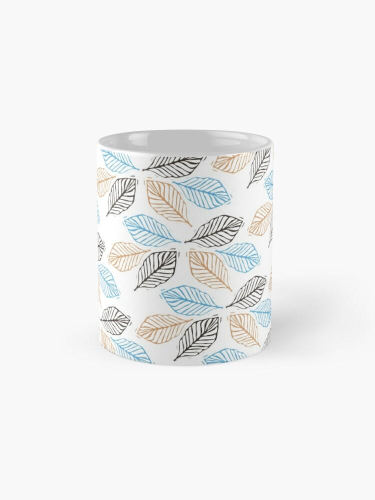 Alternate view of WINTER LEAVES Mug