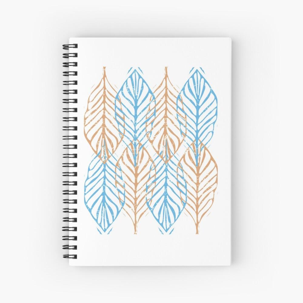WINTER LEAVES Spiral Notebook