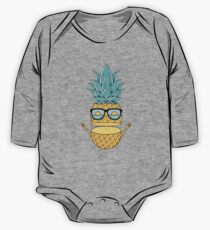 Pineapple Summer Sunglasses One Piece - Long Sleeve