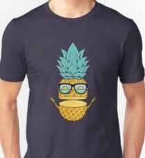 Pineapple Summer Sunglasses Unisex T-Shirt