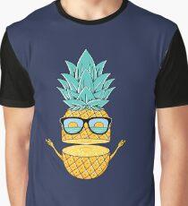 Pineapple Summer Sunglasses Graphic T-Shirt