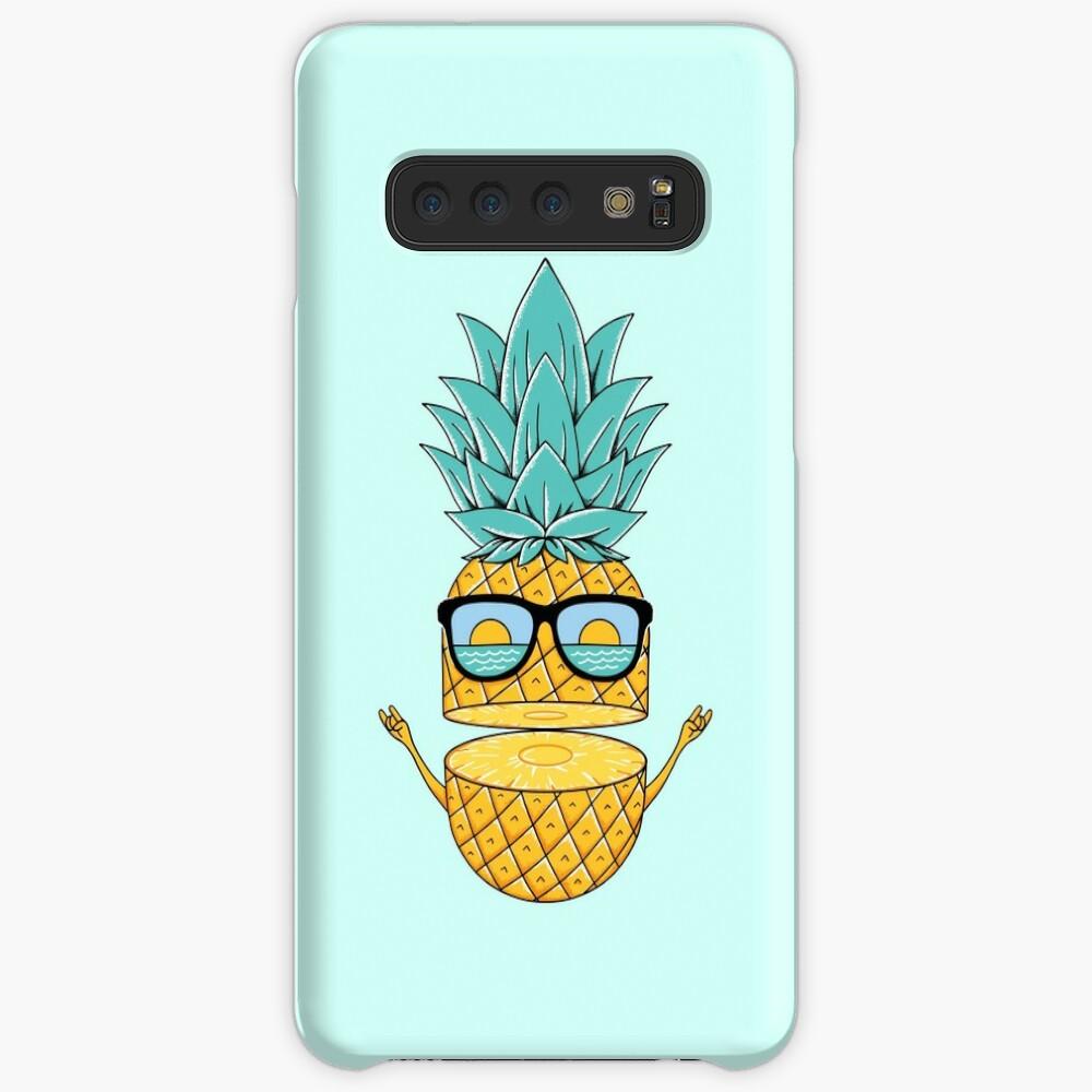 Pineapple Summer Sunglasses Case & Skin for Samsung Galaxy