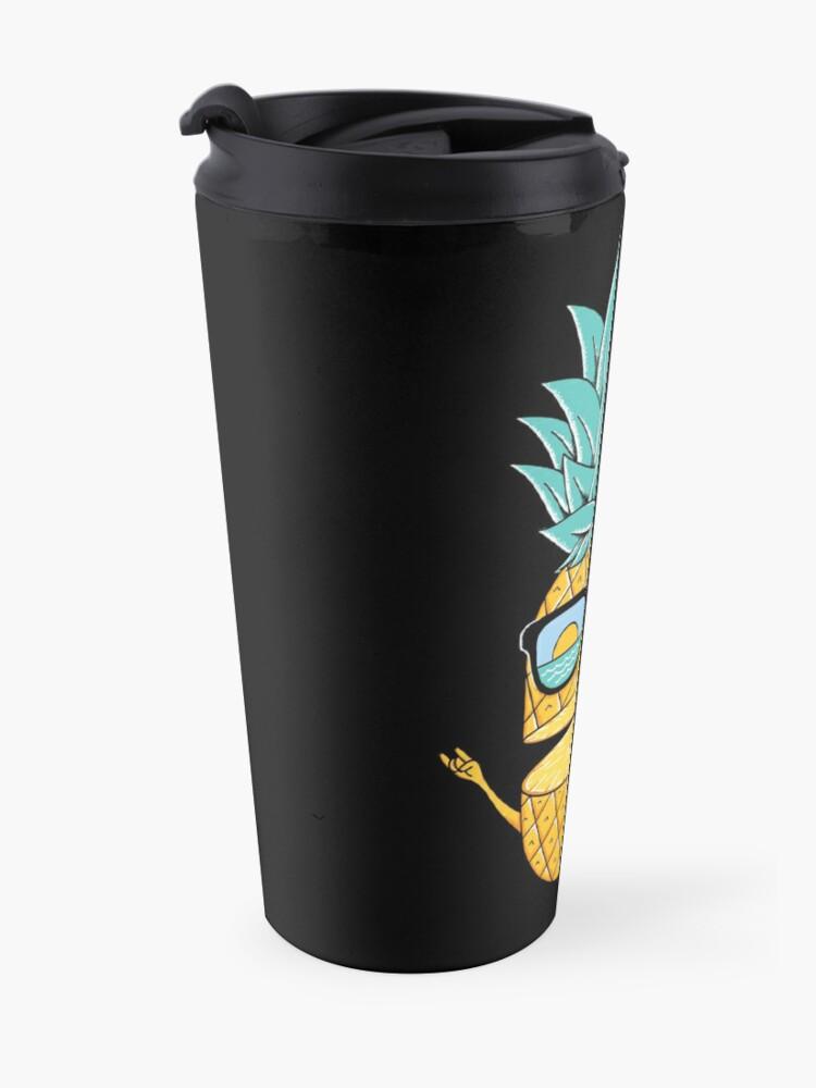 Alternate view of Pineapple Summer Sunglasses Travel Mug