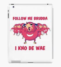I know de wae! iPad Case/Skin