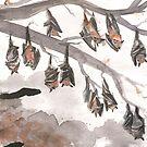 Thirteen Bats by lysswhitart