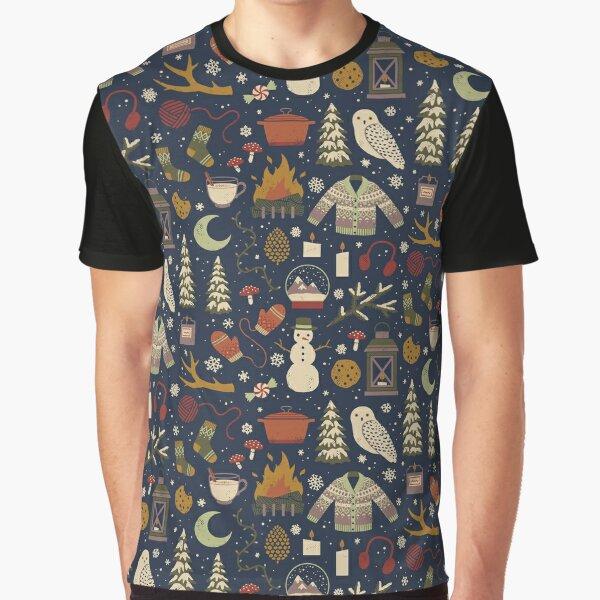 Winter Nights Graphic T-Shirt