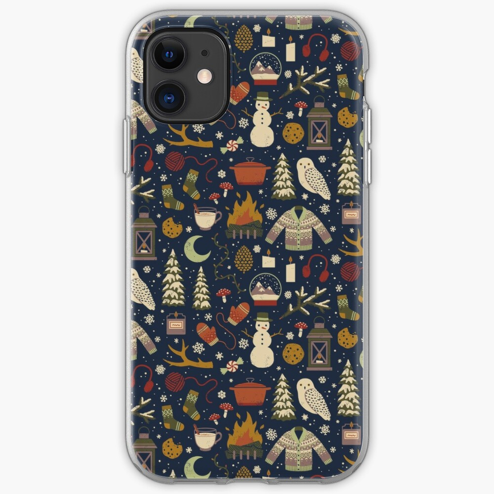 Winter Nights iPhone Case & Cover