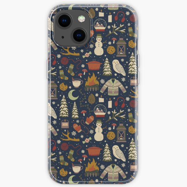 Winter Nights iPhone Soft Case