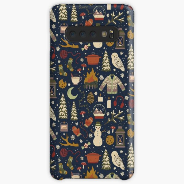 Winter Nights Samsung Galaxy Snap Case