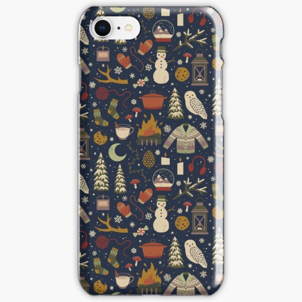 Winter Nights iPhone Snap Case