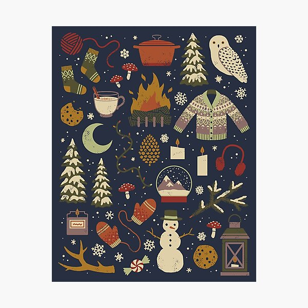 Winter Nights Photographic Print