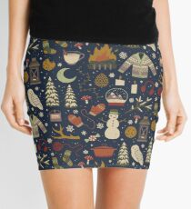 Winter Nights Mini Skirt