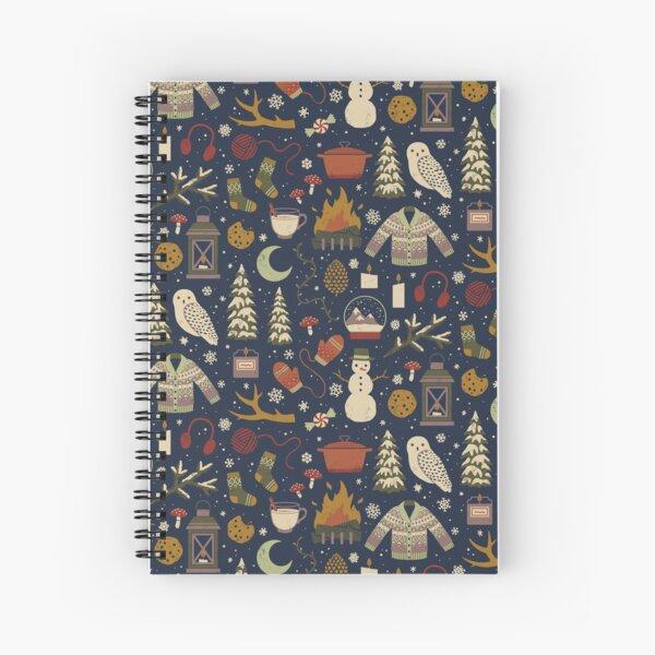 Noches de invierno Cuaderno de espiral