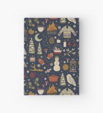 Winter Nights Hardcover Journal