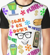 TV Game Show - TPIR (The Price Is...) Show Collage Graphic T-Shirt