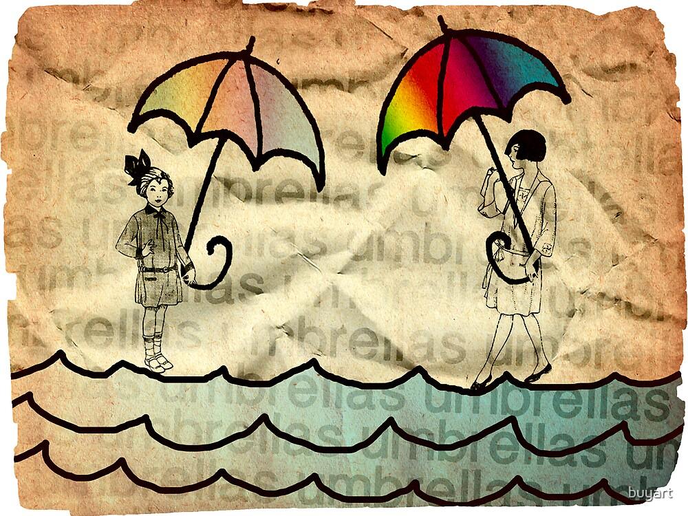 Umbrellas by buyart