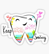 Keep smiling Sticker
