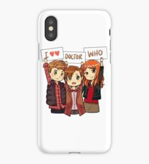 11th Doctor Squad iPhone Case