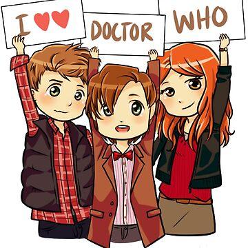 11th Doctor Squad by ScissorCrazy
