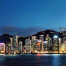 Victoria Harbour, Hong Kong by Alex Lau