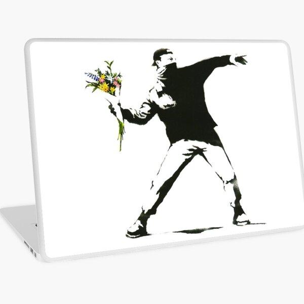Banksy, Flowers Laptop Skin
