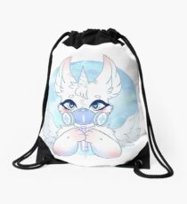 What an Angel Drawstring Bag
