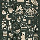 « Nuits d'hiver: Forêt » par LordofMasks