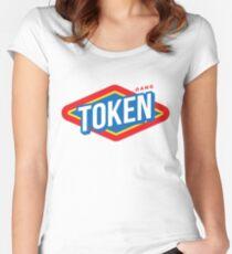 TOKEN GANG TOILET TRIP  Women's Fitted Scoop T-Shirt