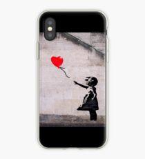Vinilo o funda para iPhone Banksy, esperanza