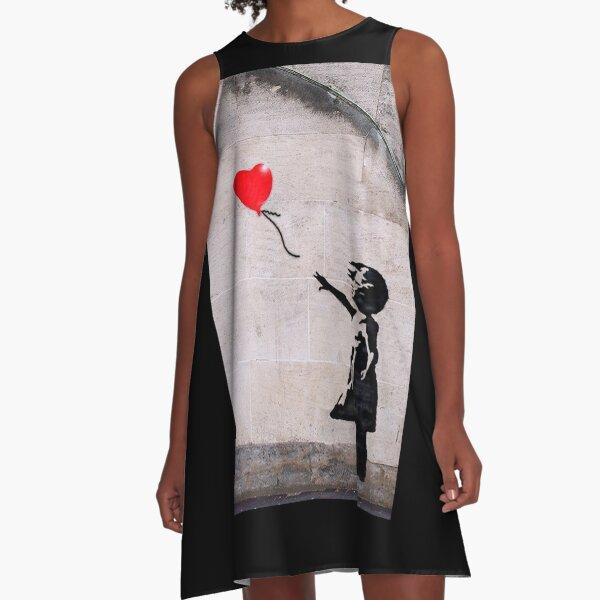 Banksy, Hope A-Line Dress