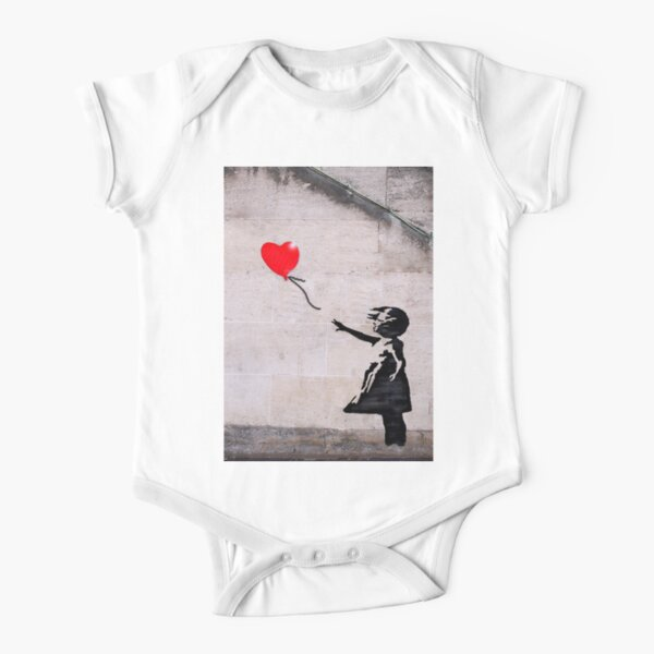 Banksy, Hope Short Sleeve Baby One-Piece