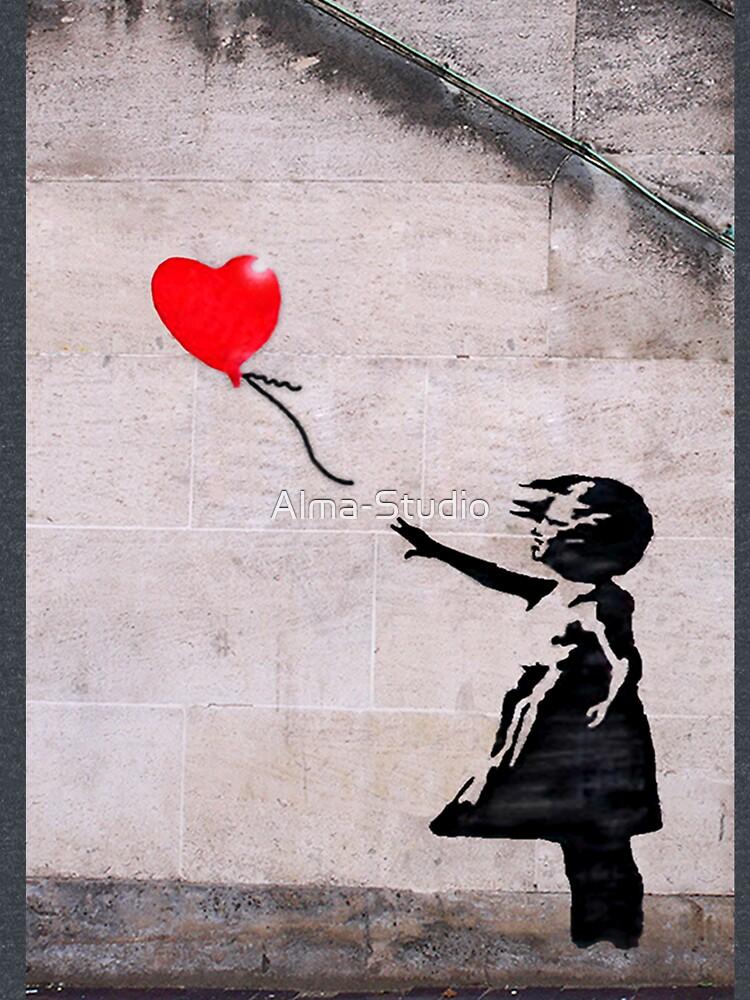 Banksy, Hope by Alma-Studio